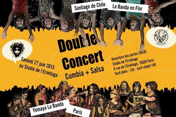 2015 06 27 concert yemaya la banda studio ermitage