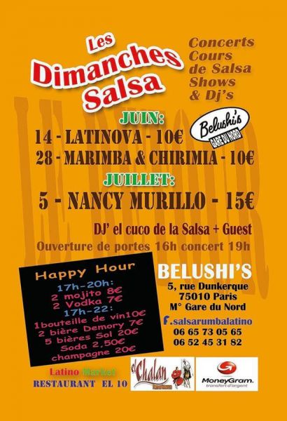 2015 07 05 concert nancy murillo belushi programme