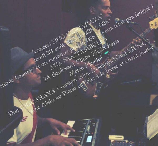 2015 08 20 concert salsa duo ciguaraya aux noctambules paris