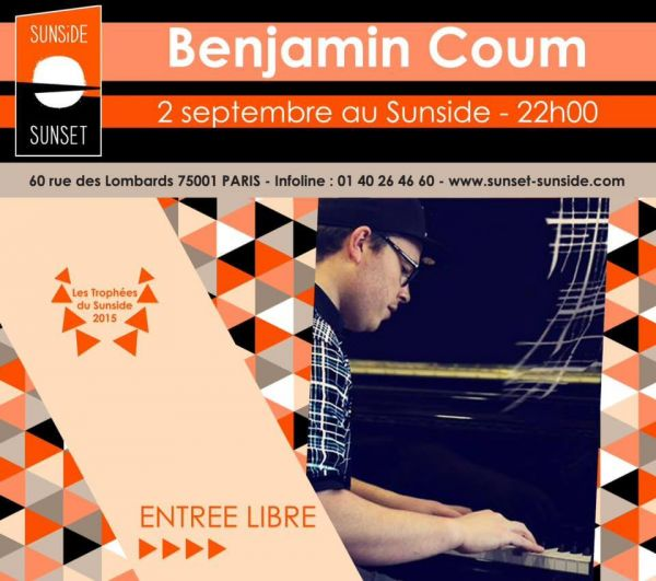 2015 09 02 concert jazz salsa benjamin coum trio sunside