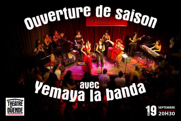 2015 09 19 concert salsa yemaya la banda el duende