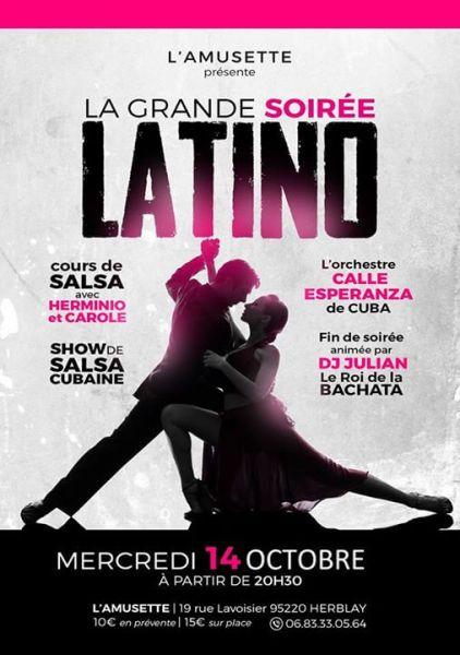 2015 10 14 concert salsa calle esperanza amusette herblay