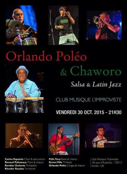 2015 10 30 concert salsa orlando poleo chaworo peniche improviste