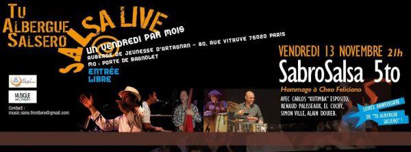 2015 11 13 concert salsa tu albergue salsero