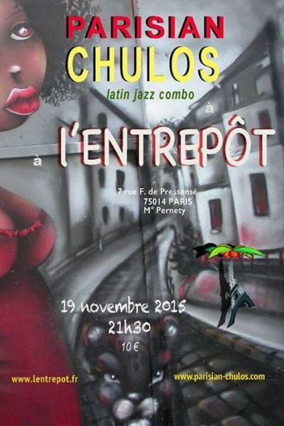 2015 11 19 concert salsa parisian chulos entrepot