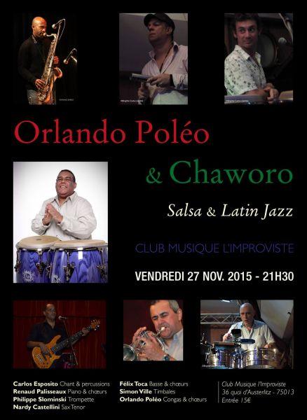 2015 11 27 concert salsa orlando poleo chaworo peniche improviste