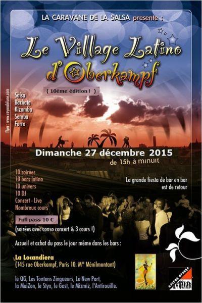 2015 12 27 concert salsa tentacion de cuba quartier general