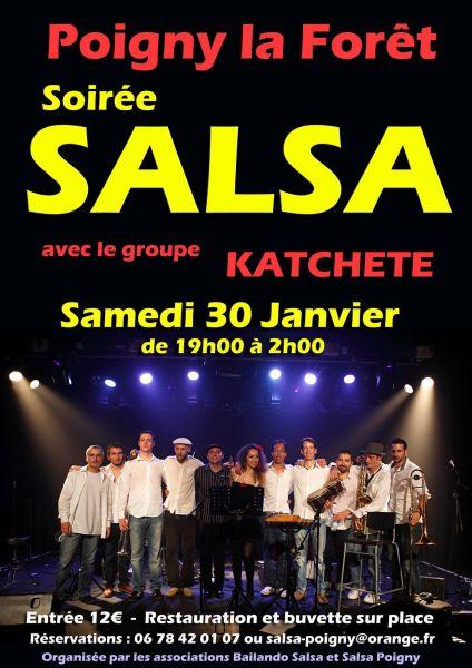 2016 01 30 concert salsa katchete poigny la foret