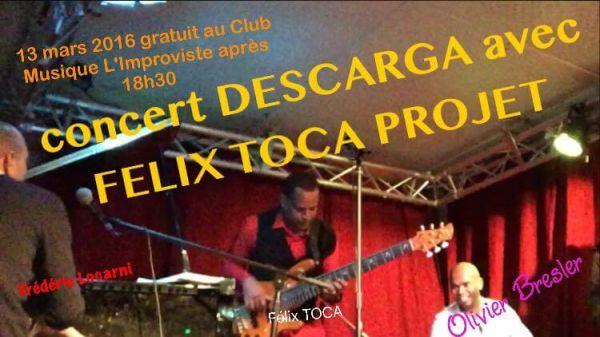 2016 03 13 concert descarga felix toca improviste