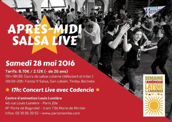 2016 05 28 concert sal cubain cadencia louis lumiere