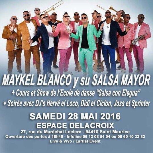 2016 05 28 concert salsa maikel blanco y su salsa mayor