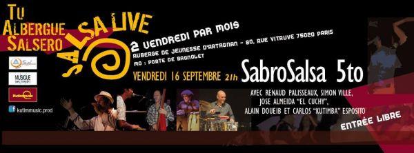 2016 09 16 concert salsa sabrosalsa 5to auberge artagnan paris
