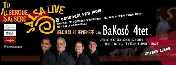 2016 09 30 bakoso quartet auberge artagnan paris