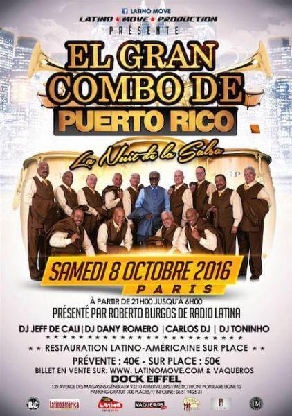 2016 10 08 concert salsa el gran combo de puerto rico paris