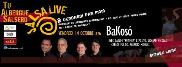 2016 10 14 bakoso quartet auberge artagnan paris