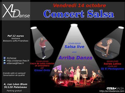 2016 10 14 concert salsa arriba danza xldanse palaiseau