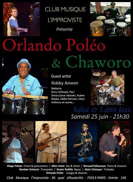 2016 11 04 concert salsa latin jazz orlando poleo improviste
