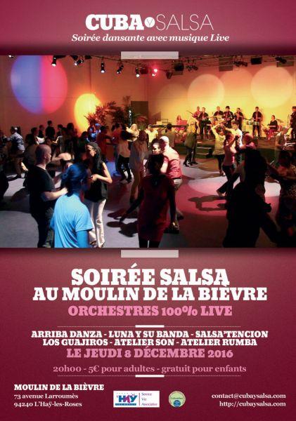 2016 12 08 cuba y salsa soiree salsa dansante orchestres moulin bievre