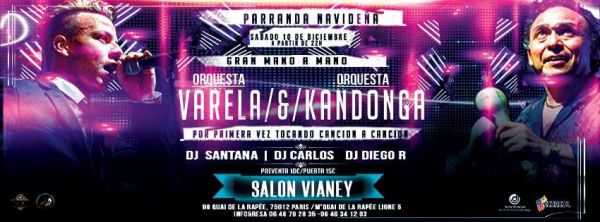 2016 12 10 orquesta varela kandonga salon vianey