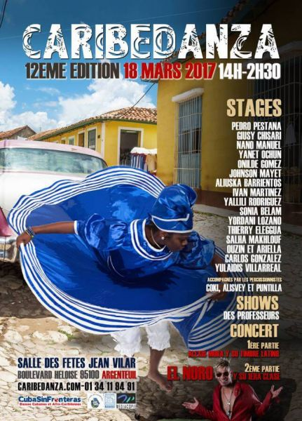 2017 03 18 el noro y su primera clase festival caribedanza