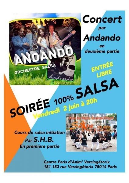 2017 06 02 concert salsa andando centre vercingetorix paris