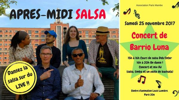 2017 11 25 concert son cubain barrio luna paris mambo
