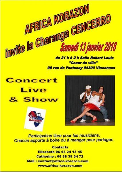 2018 01 13 concert salsa cencerro vincennes
