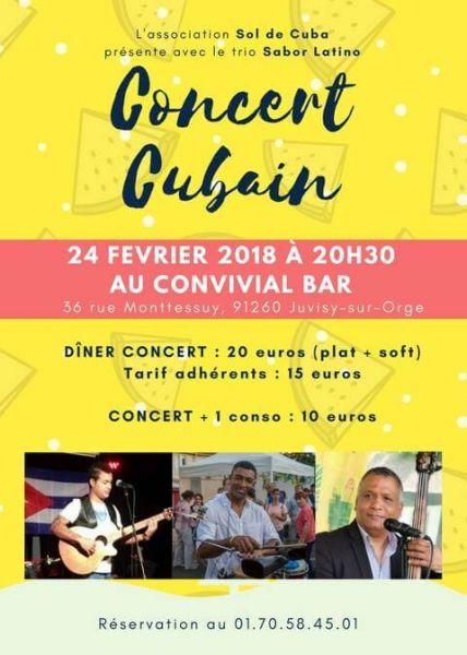 2018 02 24 concert son cubain sabor latino juvisy