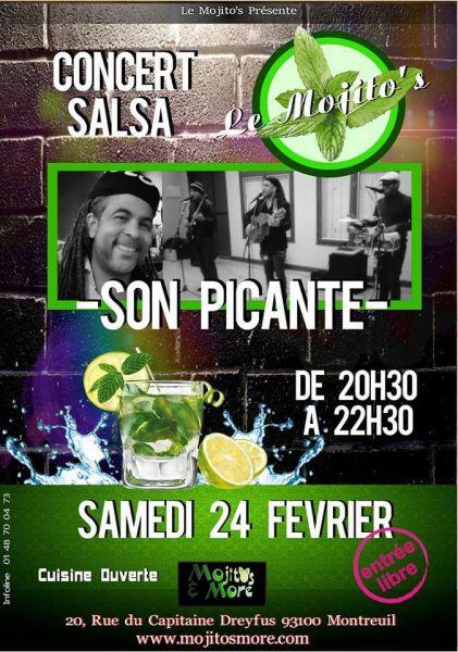 2018 02 24 concert son cubain son picante montreuil