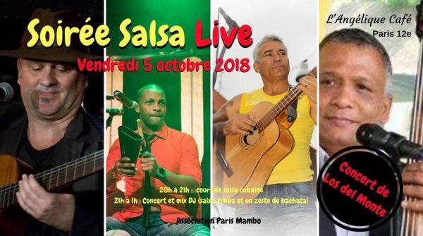 2018 10 05 concert son cubain los del monte paris
