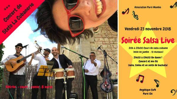 2018 11 23 concert son cubain cubanerie paris
