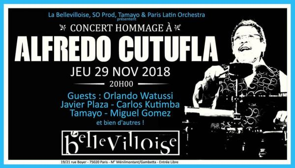 2018 11 29 concert salsa jean paul tamayo bellevilloise paris