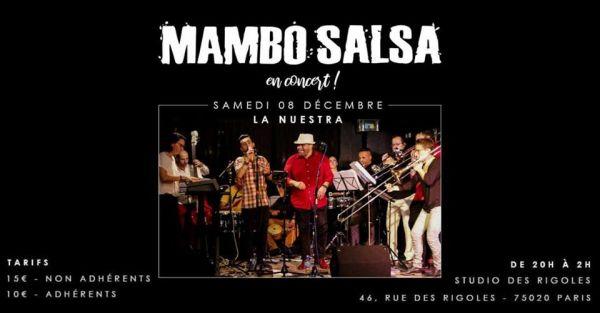 2018 12 08 concert salsa nuestra studio rigoles