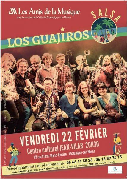 2019 02 22 concert salsa los guajiros champigny sur marne