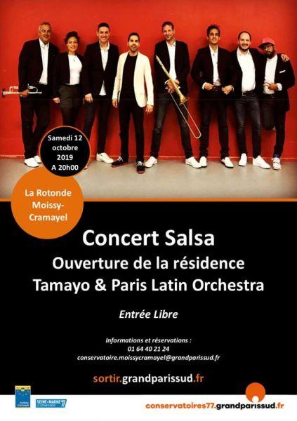 2019 10 12 concert salsa tamayo moissy cramayel
