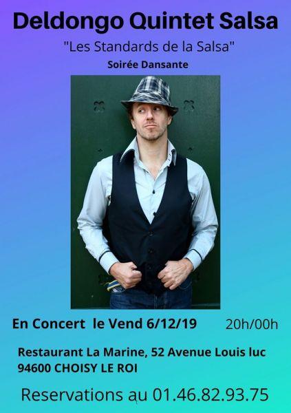 2019 12 06 concert salsa fabio deldongo salsa choisy le roi