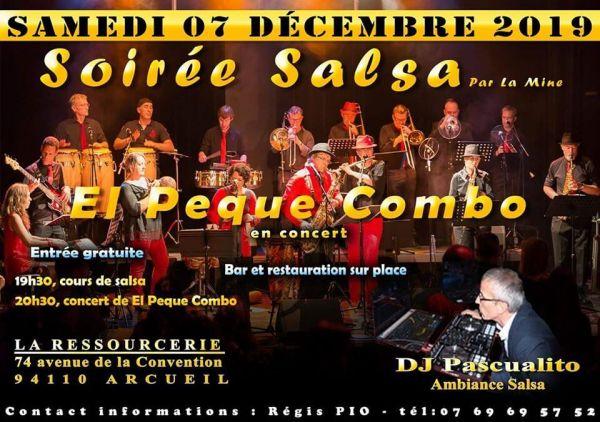 2019 12 07 concert salsa el peque combo arcueil