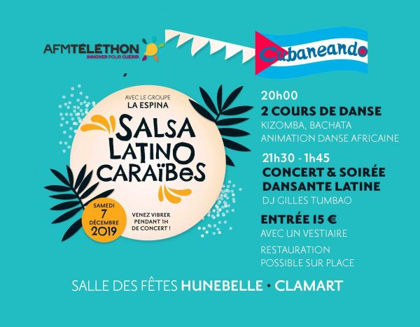 2019 12 07 soiree salsa dansante la espina cubaneando clamart