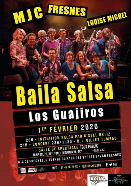 2020 02 01 concert salsa los guajiros mjc louise michel fresnes
