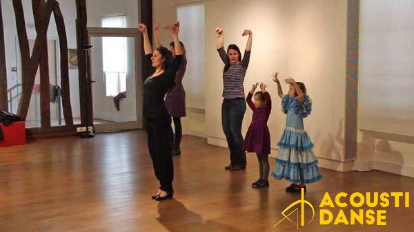 2016 04 16 acoustidanse flamenco pascale pineda stage enfants