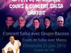BaKosó Concert Son cubain le dimanche 21 juin 2015, 7600 Bussy-Saint-Georges