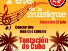 Tentación de Cuba Concert Son cubain le dimanche 21 juin 2015, 75011 Paris