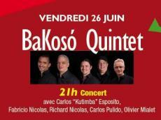 BaKosó Concert Son cubain le vendredi 26 juin 2015, 75020 Paris