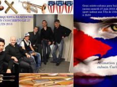 Soirée cubana para bailar casino la Orquesta Sancocho le samedi 27 juin 2015, 91940 Les Ulis