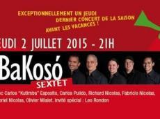 BaKosó Concert Son cubain le jeudi 2 juillet 2015, 75020 Paris