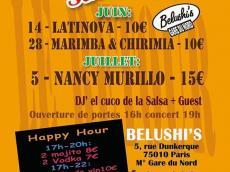 Nancy Murillo en concert avec Salsa Rumba latino le dimanche 5 juillet 2015, 75010 Paris
