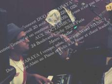 Concert Salsa Duo Ciguaraya le jeudi 20 août 2015, 75018 Paris