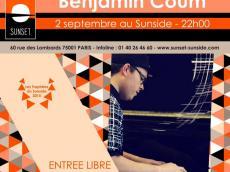 Concert jazz & Salsa Benjamin Coum Trio le mercredi 2 septembre 2015, 75001 Paris