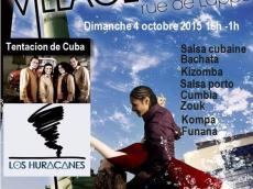 Concert Salsa Orchestre Los Huracanes le dimanche 4 octobre 2015, 75011 Paris