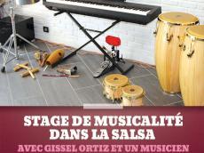 Stage de musicalité dans la Salsa avec Gissel Ortiz et Laurent Fournier le dimanche 18 octobre 2015, 94240 L'Haÿ-les-Roses